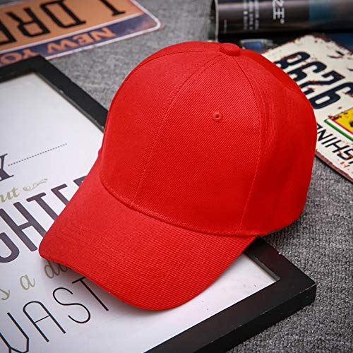 WYKDA Maske als Geschenk Rapper Bboy Dancer Volltonfarbe Baseballmütze Hysterese Hip Hop Männer Frauen Schwarz Rot Rosa Weiß Blau Marineblau Sun (Weiße Rapper Maske)