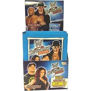 Topps - Paquet de Cartes WWE Superstars
