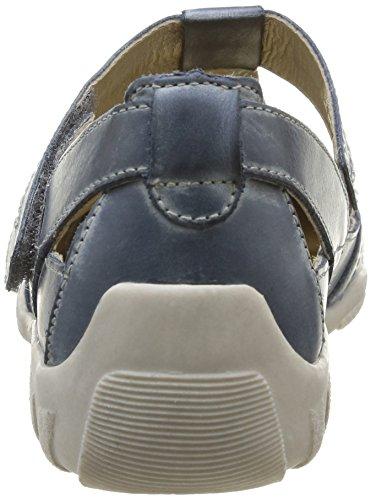 Remonte R3414 42, Chaussures de ville femme Bleu (Royal)