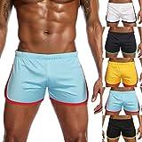 Amphia - Männer Track und Hose Jeans Mesh Sports Library - Herren Nylon Mesh Sport Flat-Angle Leichtathletik Hose Shorts Hose