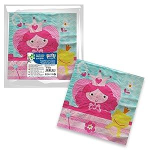Party Pack 16 servilletas Princesas, 33 x 33 cm 68236