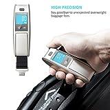 Oittm Leicht Gewicht Digitale Kofferwaage Gepäckwaage mit HD Display 50 kg Kapazität für Gepäck Taschen und Koffer - 5