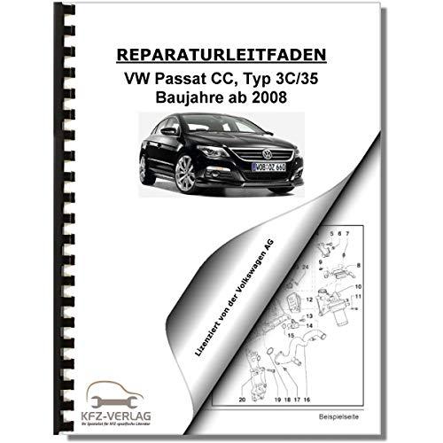 VW Passat CC (08) Inspektion, Wartung, Pflege - Reparaturanleitung