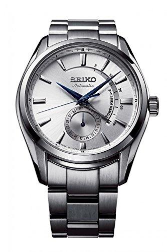 Seiko SSA303J1 Reloj de plata para hombre y niños, indicador de reserva
