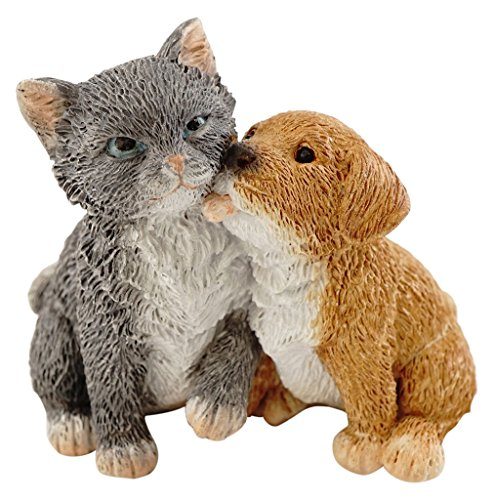 Top Collection Miniatur-Fairy Garden und Terrarium Puppy und Kitty Friends Figur