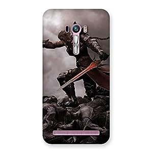 Special Warrior Sword Multicolor Back Case Cover for Zenfone Selfie