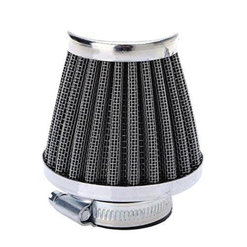 Preisvergleich Produktbild Vosarea Motorrad Luftfilter Lufteinlass Filter Pod Reiniger Luftfilter Kit Einlassfilter Motorrad (60mm)