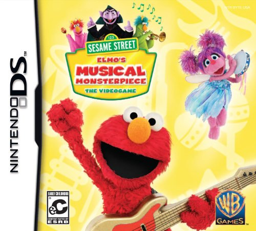 Sesamstraße: Elmo's Musical Monsterpiece Nintendo DS (Nintendo Ds Spiel-bundle)