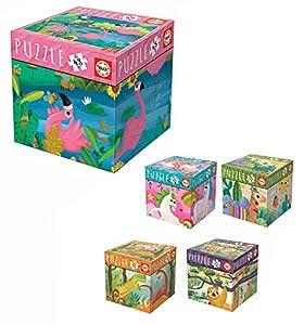 Educa Borrás- Aldeas Infantiles Puzzle Cubo 48 pzas, (18072)