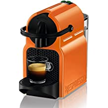 DeLonghi Nespresso Inissia EN 80O - Cafetera de cápsulas, 19 bares, compacta, apagado automático, color summer sun
