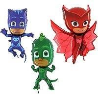 Toyland® PJ Mascaras Juego de 3 Globos de Papel con Forma de Hoja - Catboy