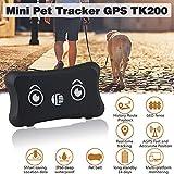 Fancartuk, localizzatore GPS per cani e gatti, localizzatore GPS in tempo reale, impermeabile, regolabile, per Android e iPhone