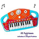 Unbekannt elektrisches E-Piano / Keyboard -  Minions - ich einfach unverbesserlich  - 25 Funktionen ! - mit Mikrofon - Aufnahme - Funktion / Sound & Melodien / Rhythm..