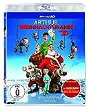 DVD Cover 'Arthur Weihnachtsmann 3D [3D Blu-ray]