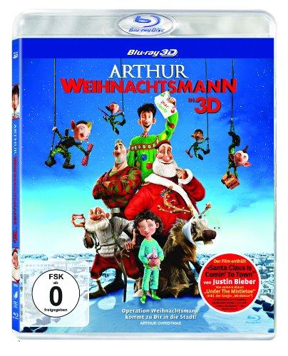 Arthur Weihnachtsmann 3D [3D Blu-ray]