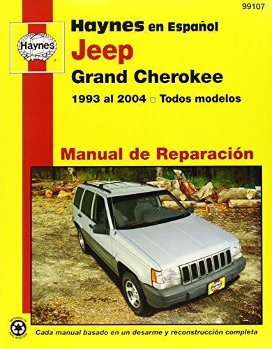 Jeep Grand Cherokee Overhaul Manual (Haynes Manuals) por Editors of Haynes Manuals
