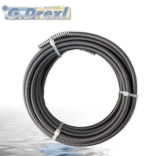 Spirale nettoyant des tubes 8 mm x 7,5 Mètres long