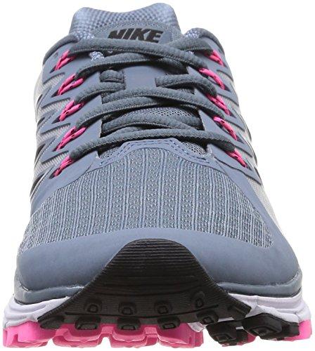 Nike Wmns Zoom Vomero 9, sneaker femme Blue Graphite/Blk-White-Pnk Pw