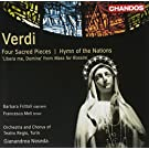 Verdi: Four Sacred Pieces/ Hymn Of The Nations/ Libera Me