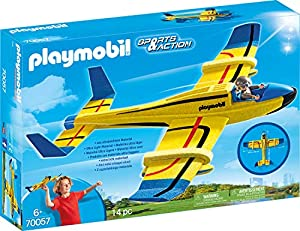 Playmobil 70057Sports & Action Lanzamiento gleiter Agua Avión, Multicolor