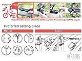 Funk – Alarmanlage gegen Diebstahl !!! Fahrrad Diebstahlschutz Alarm Alarmanlage Schloss Sicherheit Zusatz - 5