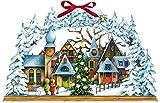 Wandkalender - Lichterbogen Weihnachtsdorf