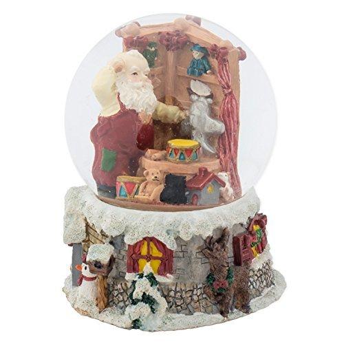 zeug Shop 100mm Musik Wasser Globe spielt Melodie We wish you a merry christmas ()