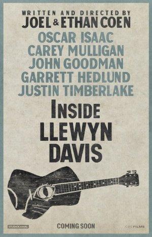 Inside LLEWYN Davis - U.S Teaser Movie Film Wall Poster - 43cm x 61cm / 17 Inches x 24 Inches A2 - Movie Wall Art Poster Print - 43cm x 61cm / 17 Inches x 24 Inches A2 Joel Ethan Coen -