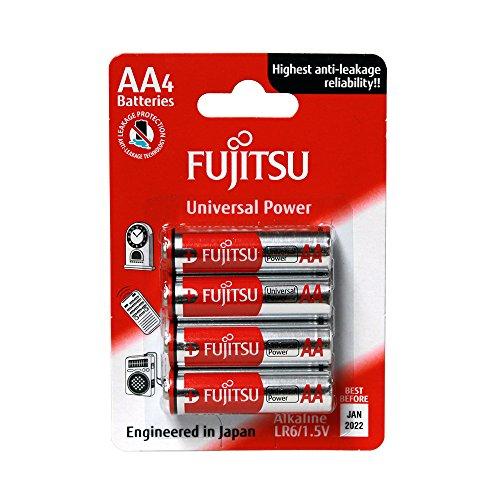 Fujitsu FB86300 - Pack 4 baterías alcalinas Universal