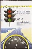 Glückwunschkarte Führerschein bestanden - Herzlichen Glückwunsch - Allseits gute Fahrt | 441046 GKB