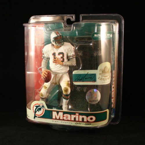 outlet store 1e545 e7cc9 DAN MARINO / MIAMI DOLPHINS McFarlane 6 Inch NFL LEGENDS SERIES 3 Sports  Picks Action Figure