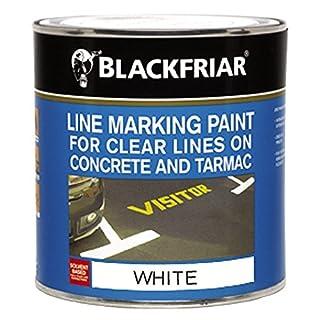 Blackfriar Road Line Marking Paint White - 1 Litre