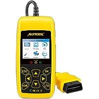 Coche Motor lector de código de error Autool CS520escáner de código de auto, apaga la luz de motor (mil) y herramienta de análisis de diagnóstico DTC/consejos luces de advertencia