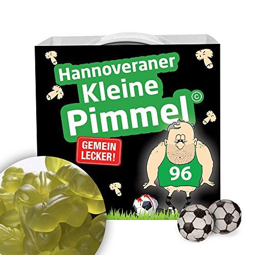 Hannoveraner Kleine Pimmel | Gemein leckere Fruchtgummi, inklusive Messlatte zum lachen & vergleichen | Achtung: Wolfsburg-, Braunschweig- & alle Fußball-Fans aufgepasst, so schön kann Fußball sein
