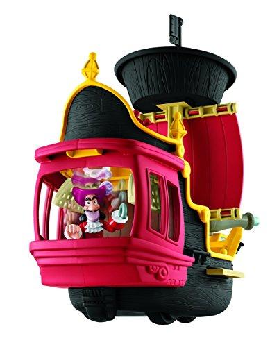 Mattel Fisher-Price Y2265 – Jake und die Nimmerland Piraten Käpt'n Hooks Jolly Roger Piratenschiff - 3