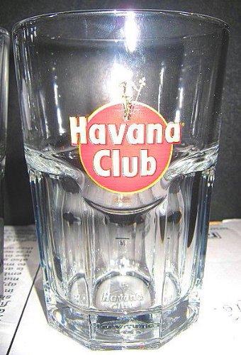 Original Havana Club Rum Gläser 6 Longdrink Rumgläser ~mn 15 0921