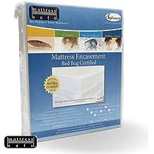 Anti y chinchetas funda de protección para somieres anti insectos Anti Moisissures Mattress Safe 75x 190x17