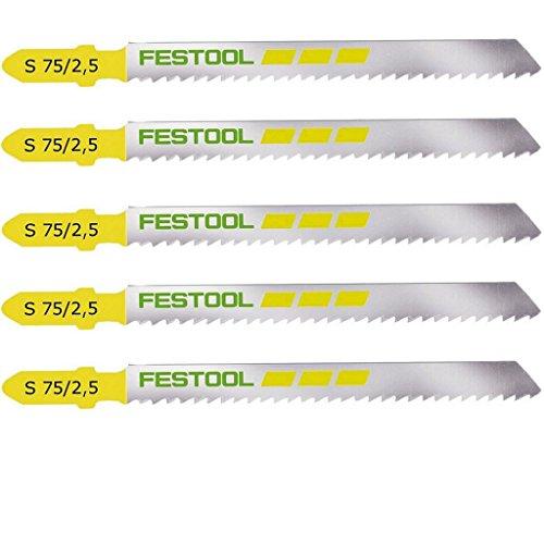 Festool Stichsägeblatt S 75/2,5/5 – 204256