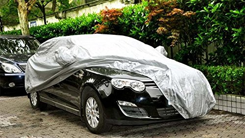 General Motors auto indumenti auto protezione antipolvere Sunscreen raffreddamento protezione UV, Silver, large