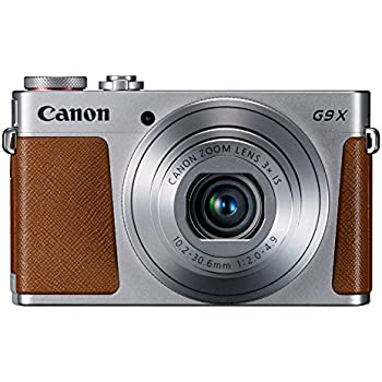 Canon PowerShot G9 X Compact System Camera (20.9 MP, Wi-Fi, NFC) 3-inch Touch Screen - Silver