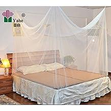 Feinmaschiges Kasten- Moskitonetz- perfekter Insektenschutz Mückenschutz zu Hause u. auf Reise