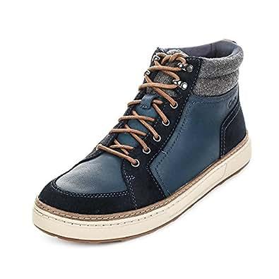 clarks lorsen top herren hohe sneakers schuhe handtaschen. Black Bedroom Furniture Sets. Home Design Ideas