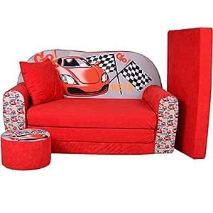 Lit enfant fauteuils canap sofa pouf et coussin racing w319 02 - Amazon fauteuil enfant ...