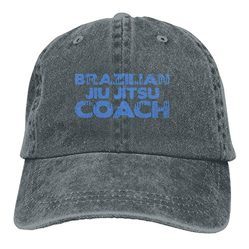 Brazilian Jiu Jitsu Coach Unisex Adjustable Baseball Caps Denim Hats Cowboy Sport Outdoor