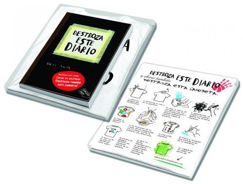 Pack Destroza este diario+camiseta (Libros Singulares) por Keri Smith