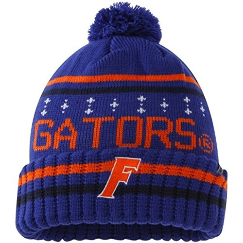(Florida Gators Offiziell NCAA One Size Barometer Cuffed Knit Beanie Hat von Top of The World 226075)