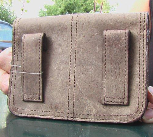 G327cinturón bolsa riñonera bolsa de vacuno Greenburry/lefox marrón/antiguo