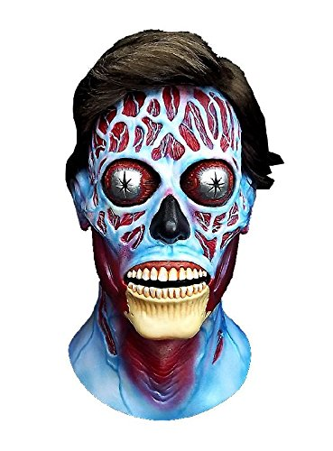 Kostüme Ausserirdischer (Sie leben Alien Maske aus Latex zum Halloween Kostüm)