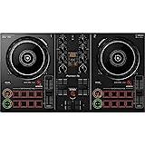 Pioneer DDJ-200 - Contrôleur d\'entrée de gamme Bluetooth pour DJ utilisable avec smartphone, Noir.