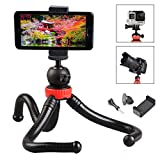 Trepied Flexible Octopus Universel pour Smartphone/Camera/Gopro/Appareil...